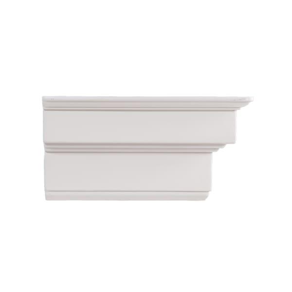 Columbia White Fireplace Mantel Shelf