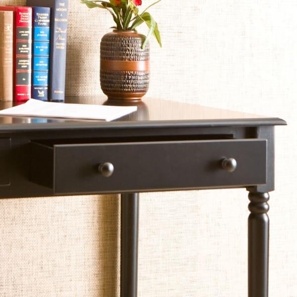 Priscilla Small Desk Black