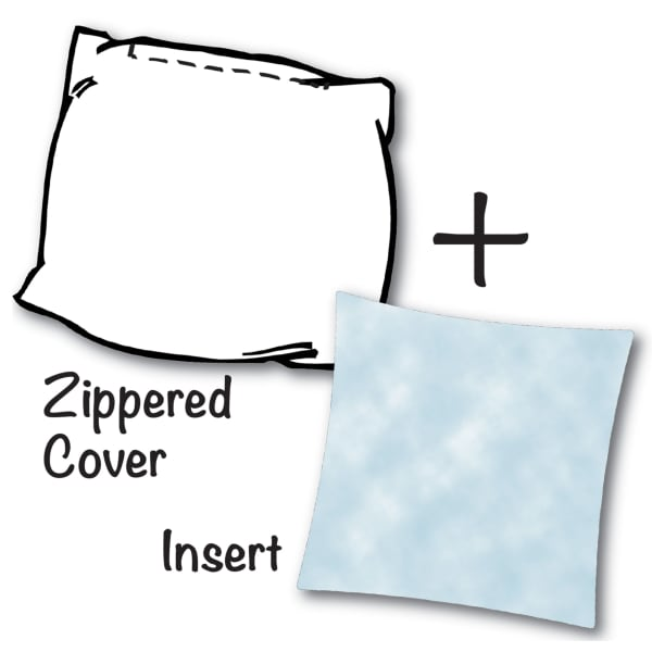Marco Island with Removable Cover Outdoor Pillow