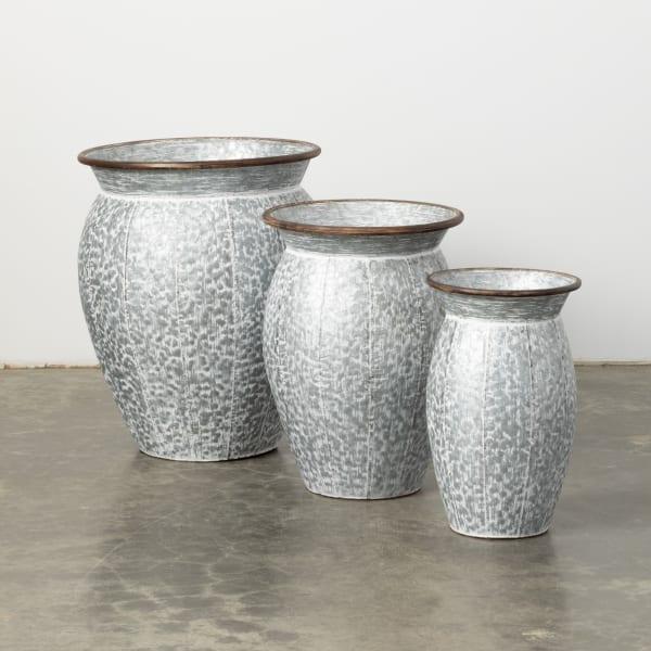 Drum Container Set of 3