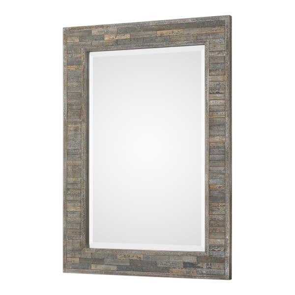 Weathered Pine Mirror