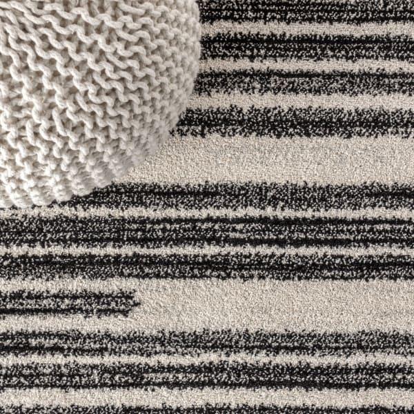 Khalil Modern Berber Stripe Rug