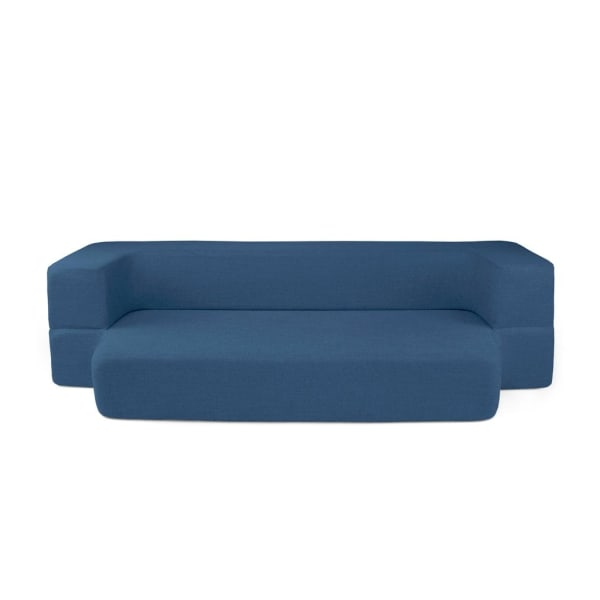 Blue Queen Couch Bed