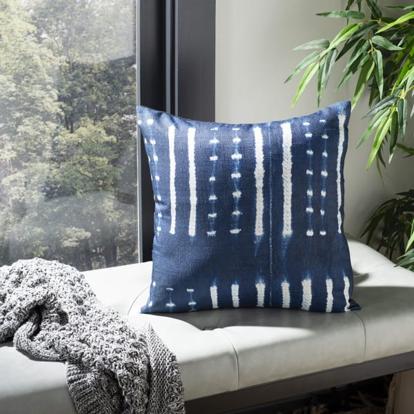 Narla Deep Blue Pillow