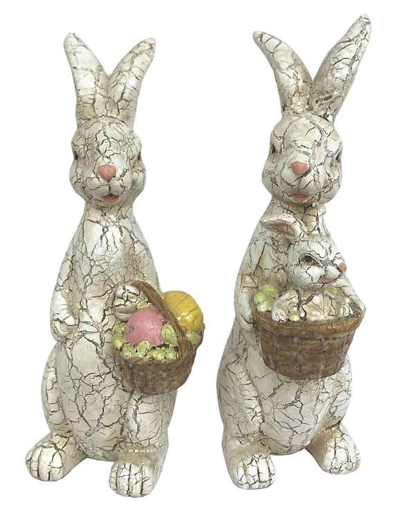 Rabbits Set Of 2 Outdoor Sculpture