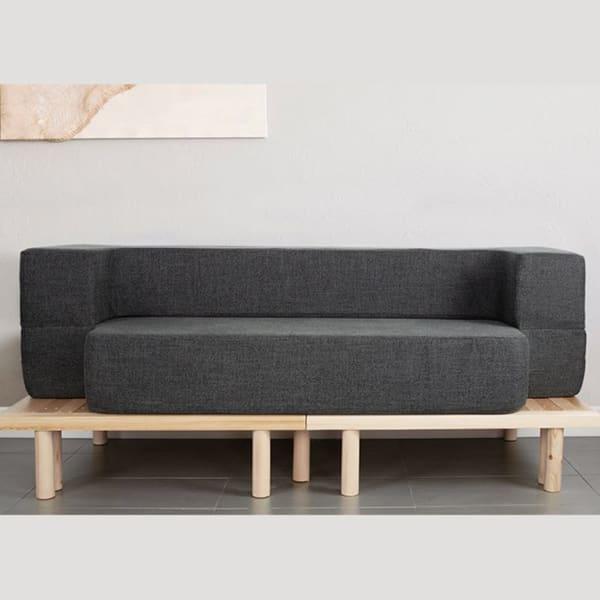 Convertible Queen Couch Bed Platform