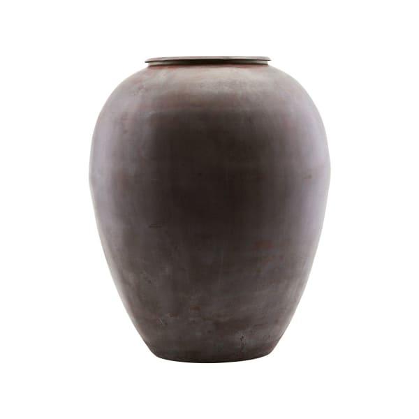 Etnik Metal Vase