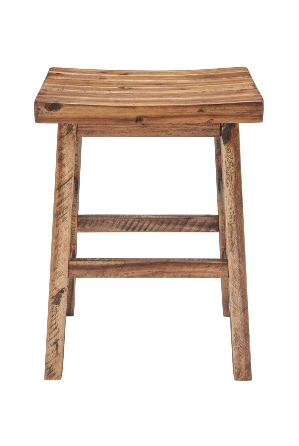 Durango Industrial Wood Counter-Height Stool