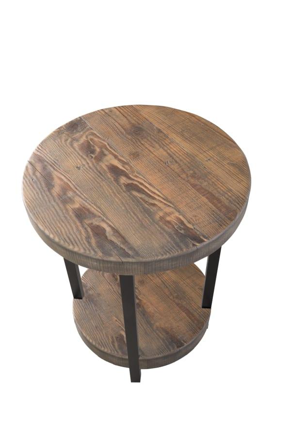 Pomona Round End Table