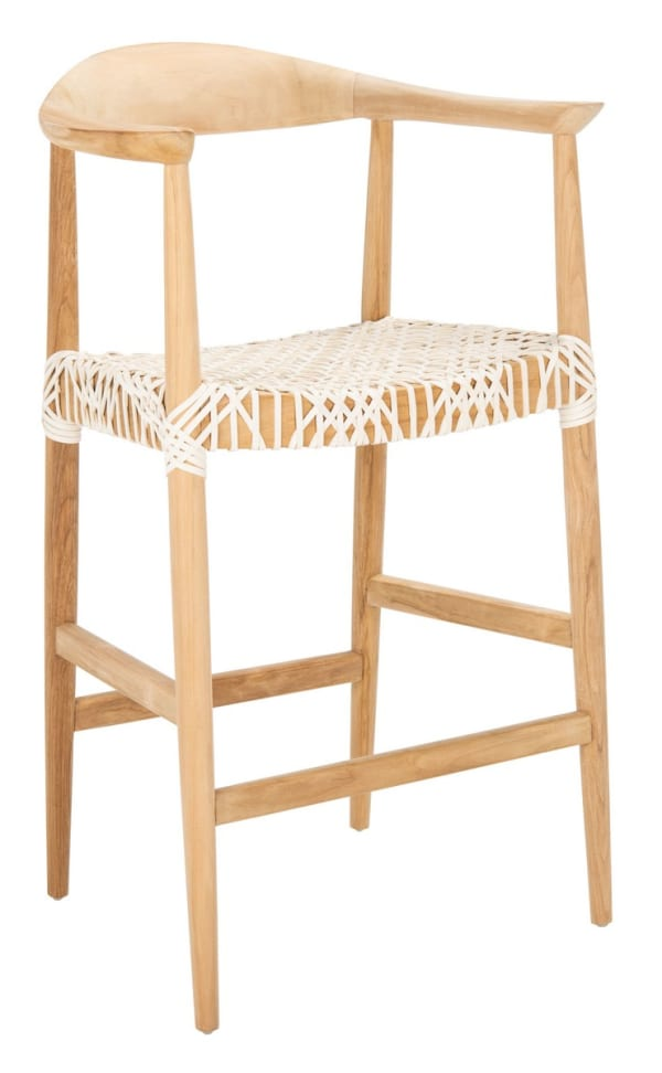 Lily White Counter Stool