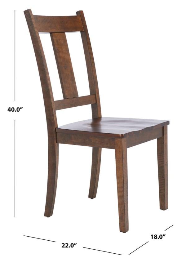 Tayten Rustic Café Dining Chair (Set Of 2)