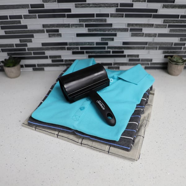 Extra Wide Adhesive Black Lint Roller