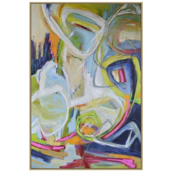 Constant Knot Framed Canvas Wall Art
