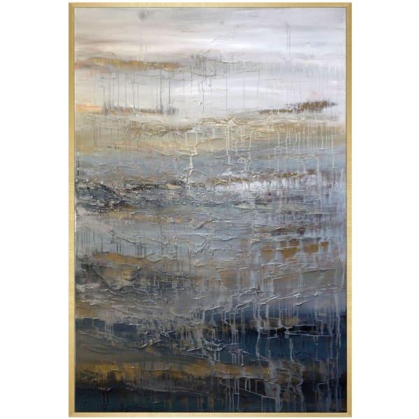 Simmer Framed Canvas Wall Art