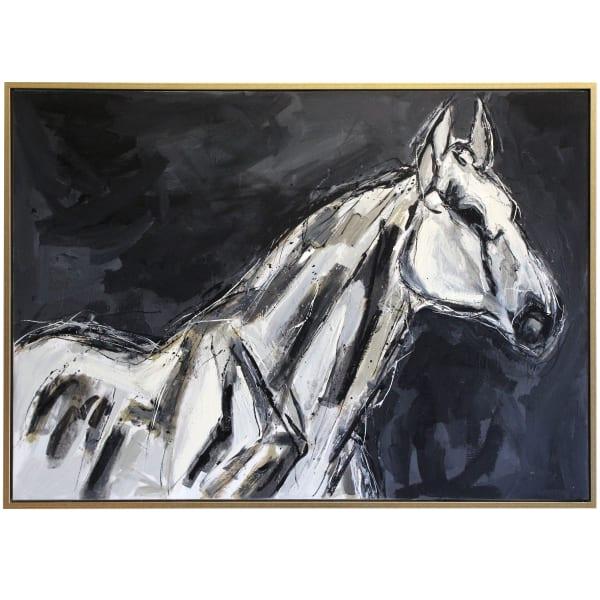 Colt Framed Canvas Wall Art