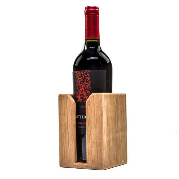Teak Wine Bottle Holder