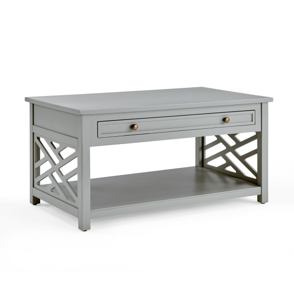 Coventry Wood Coffee Table with 1-Drawer
