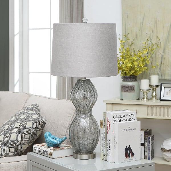 Raine Glass Table Lamp