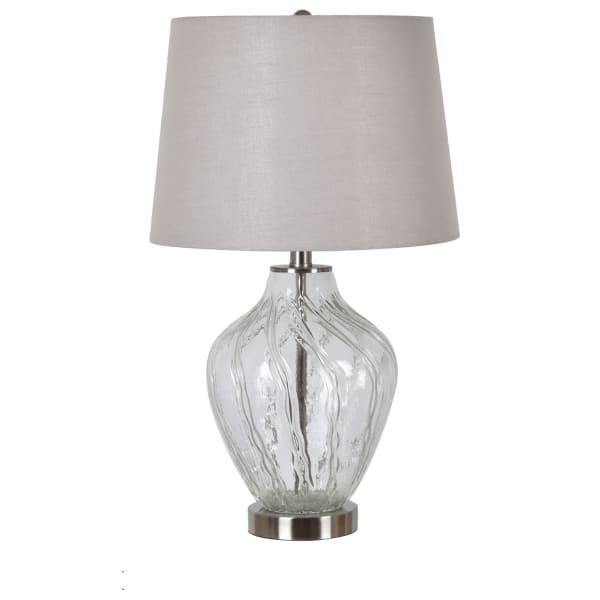 Martina Swirled Glass Table Lamp