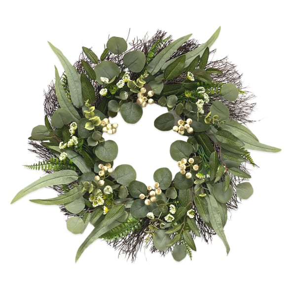 Pier 1 Eucalyptus Wreath 21