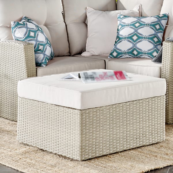 Canaan All-Weather Wicker Outdoor Sectional Set