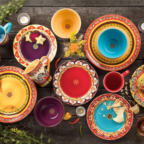 Galicia 16 Piece Dinnerware Set