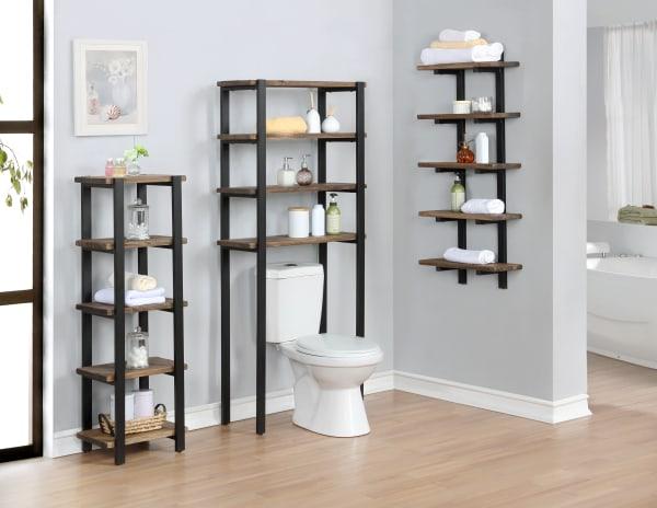 Pomona Over the Toilet 4 Shelf Bath Storage