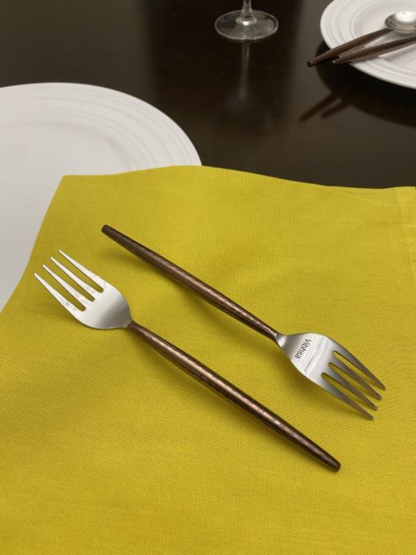 Stainless Steel Set of 6 Piece Salad Appetizer Forks