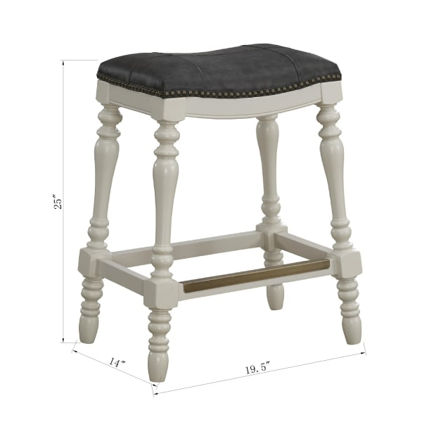 Claira Saddle Seat Counter Stool