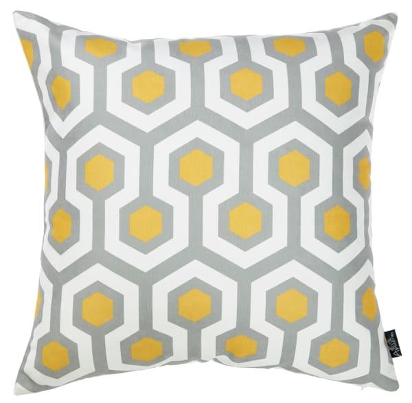 Retro Geometric Decorative Throw Pillow Cover