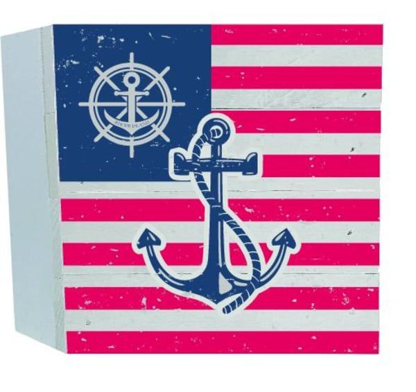 ANCHOR FLAG Wall Accent