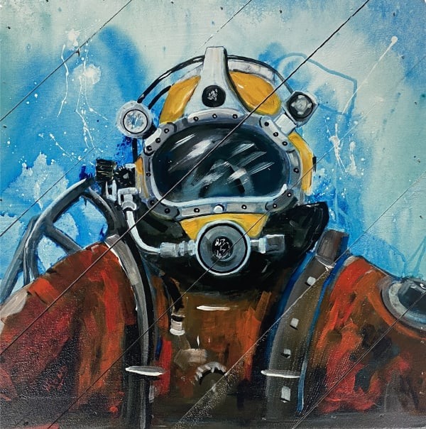 DIVER Wall Accent