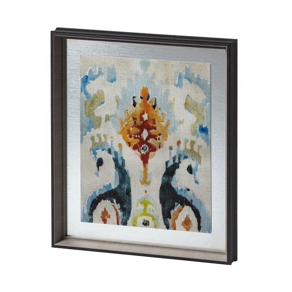 Bohemian Ikat V Wrapped Canvas Wall Art