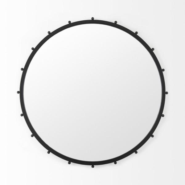 Elena III Large Black Wall Mirror