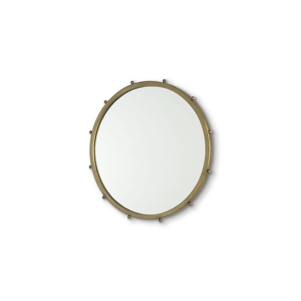 Elena I Small Gold Wall Mirror