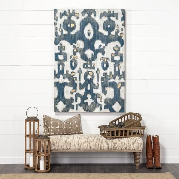 April 14 x 16 Brown/Cream Woven Pattern Decorative Pillow Cover
