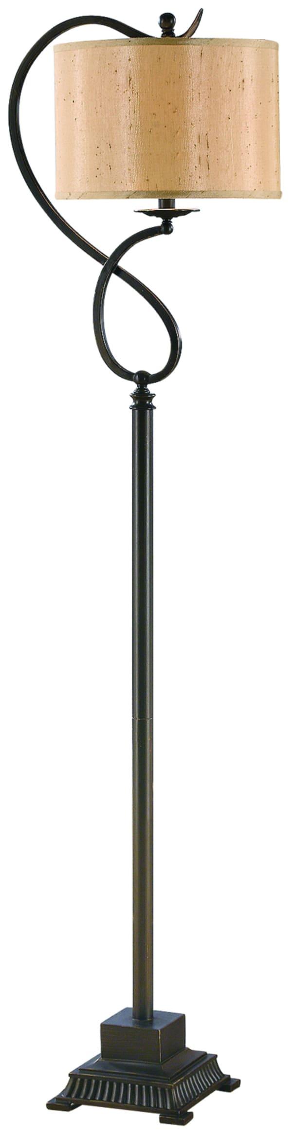 Gaia Bronze Metal Floor Lamp