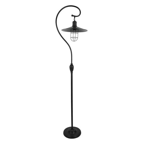Ledger Antique Arched Bronze Floor Lamp