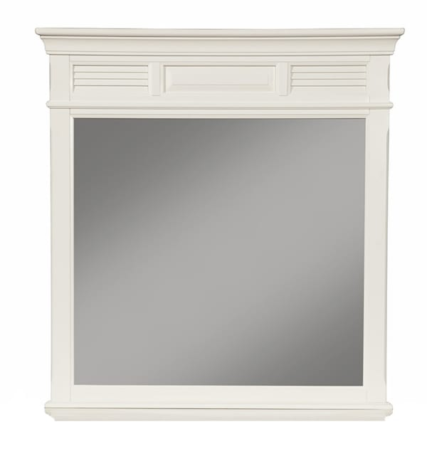 Winchester Wood Mirror in White