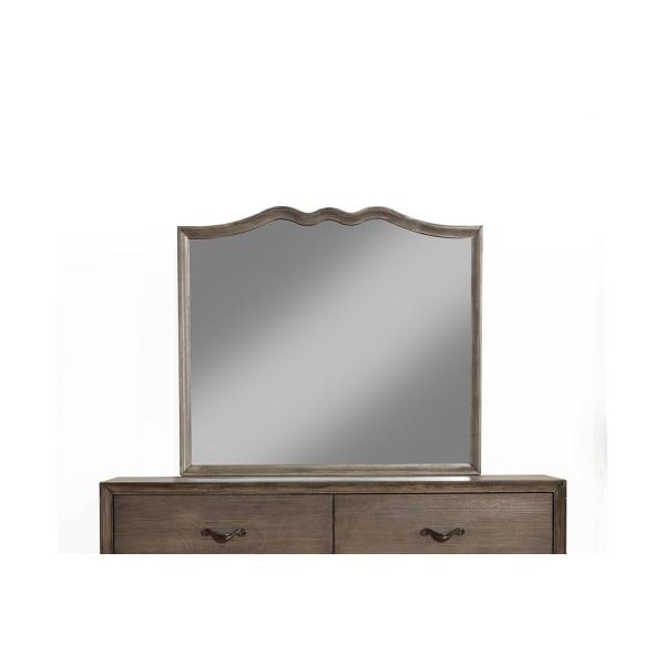 Charleston Mirror in Antique Gray