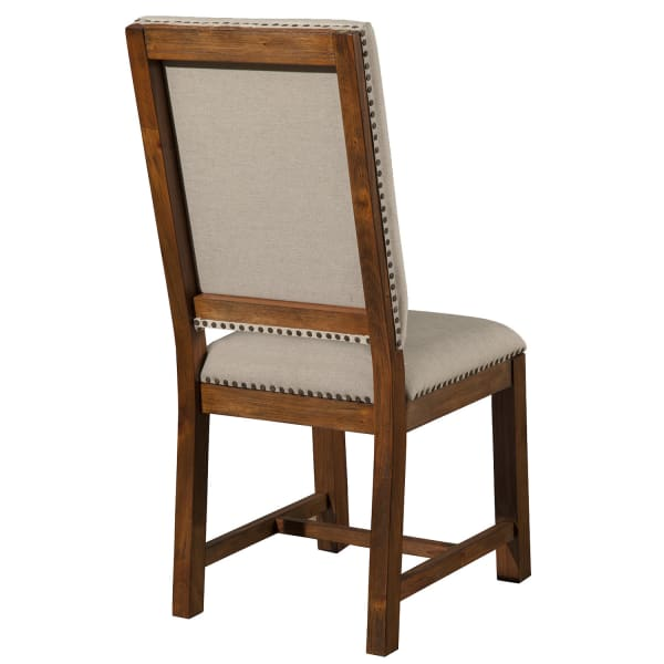 Shasta Upholstered Side Chairs in Salvaged Natural