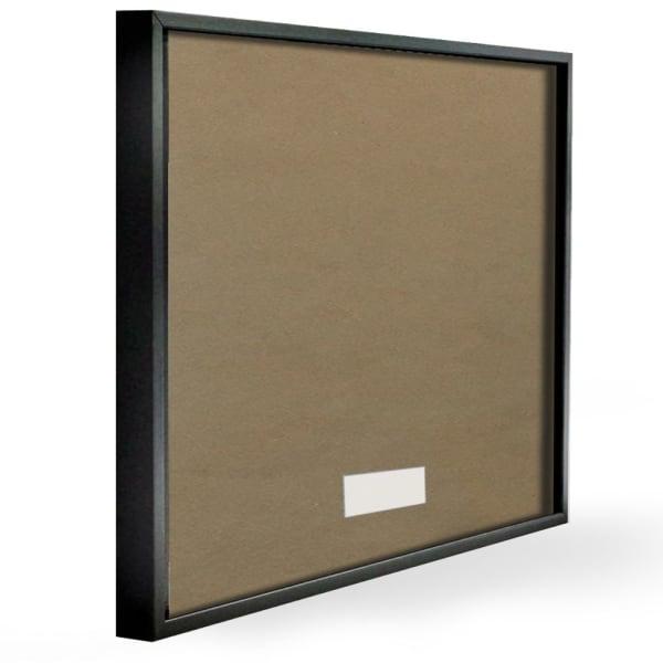 Missing Cat Milk Box Sour Face Family Pet Black Framed Wall Art, 12 x 12