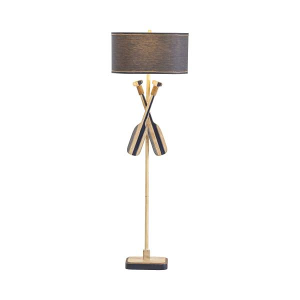 Nautical Resin Oar Floor Lamp