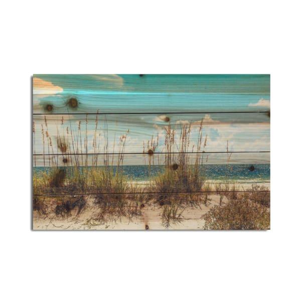 Sand Dunes 12x18 Print on Wood Art