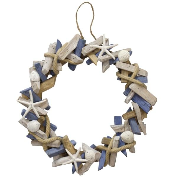 Hand Assembled Wooden Wreath