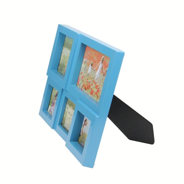 Blue Photo Collage Frame