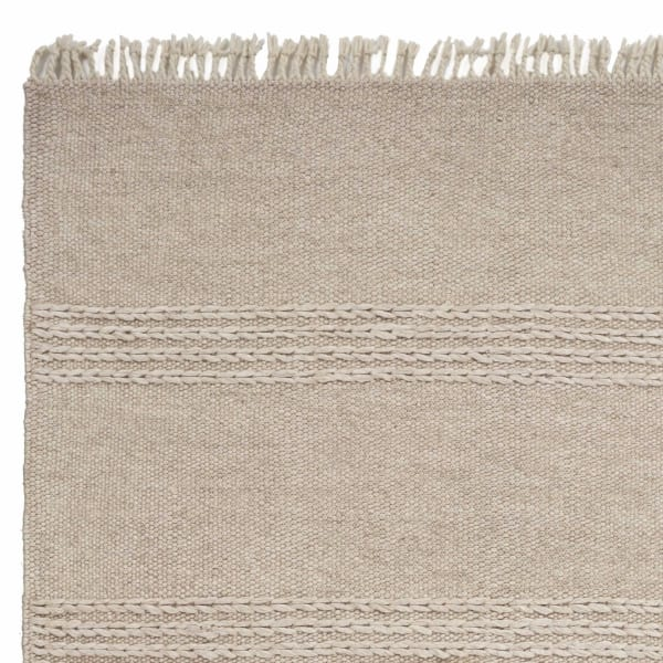 Wool Natural Area Rug