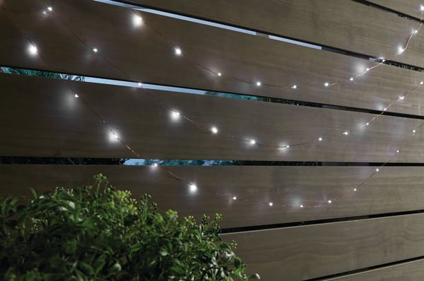 24-Ft Home Solar-Powered Fairy Lights