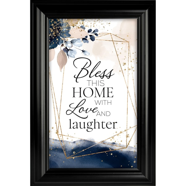 Bless This Home Heaven Sent Plaque Frame