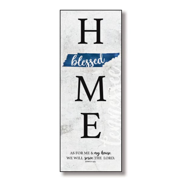 Tennessee HomeBlessed Wood Wall Plaque with Hanger